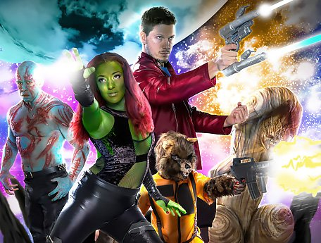 Watch Guardians of the Galaxy. Dirty trash parody in space video