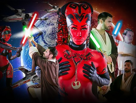 Watch Kleio Valentien - Star Wars XXX Parody. Jedi Hunter Darth Talon video