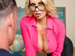 Watch OMG! I really want my milf sexy busty teacher Leigh Darby video