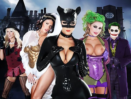 Watch Unique full-length porn. CatWoman XXX Assault on Arkham video